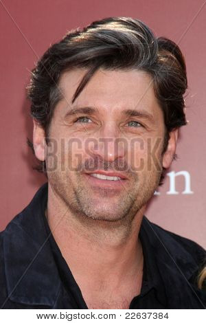 LOS ANGELES - MAR 13:  Patrick Dempsey arriving at the John Varvatos 8th Annual Stuart House Benefit on March 13, 2011 in Los Angeles, CA