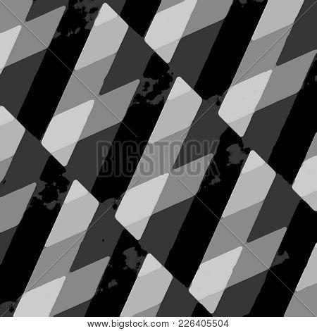 Grunge Striped Intricate Pattern