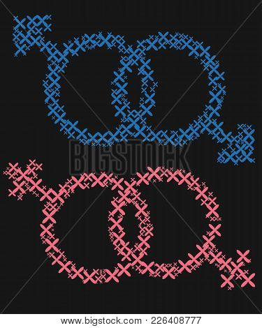 The Concept Of Freedom To Choose A Partner For Relationships, Homosexuality. Badges Of Relations Bet