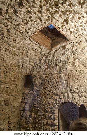 Vew Of The Prison Where Cagliostro Died