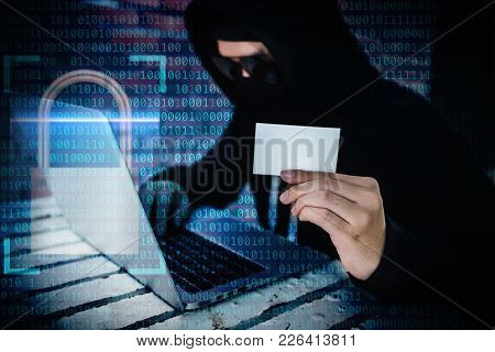 Computer Hacker Trying To Accessing Information Privacy Of The Companies.