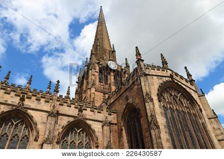 Rotherham, Town In South Yorkshire, England. Rotherham Minster (all Saints Church), Gothic Architect
