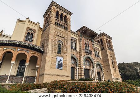 Seville,spain-november 16,2011: Museum Of Arts And Traditions, Museo Artes Y Costumbres Populares,se