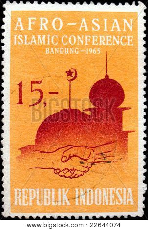 Stamp Afro-asian Islamic Conference