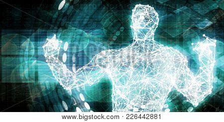 Emerging Technologies and Markets as a Tech Concept 3D Render