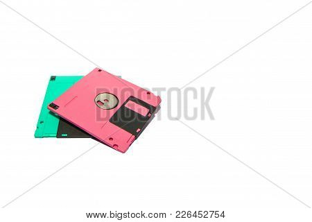 A floppy disk, also called a floppy, diskette ubiquitous form of data storage and exchange from the