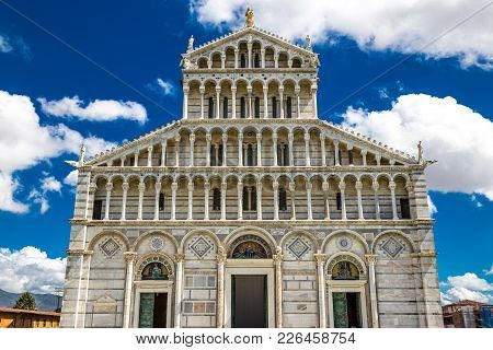 Cathedral Of The Assumption Of The Virgin Mary - Piazza Dei Miracoli (square Of Miracles), Pisa, Ita