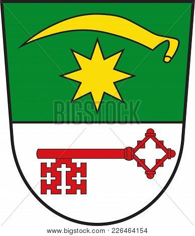 Coat Of Arms Of Bad Sassendorf Is A Municipality In The District Of Soest, In North Rhine-westphalia