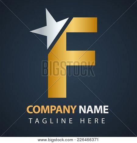 Monogram Design Elements, Graceful Template. Letter Emblem Sign F. Calligraphic Elegant Line Art Log