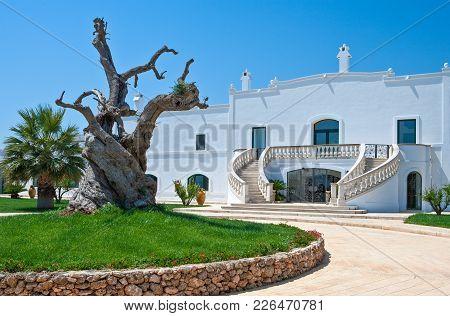 The Ancient Rural Farms In Puglia