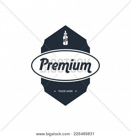 Personal Vaporizer E-cigarette E-juice Liquid Label Badge Set