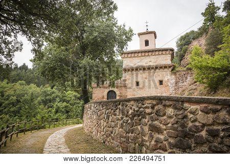Suso Monastery In San Millan De La Cogolla, Province Of La Rioja, Spain