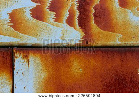 Abstract Blurred Background.metal Rust Background. Metal Rust Texture. Decay Metal Background. Decay