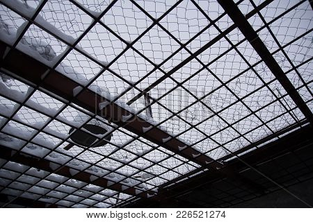 Photo Of The Grate On Top Of The Place Of A Walk In Prison