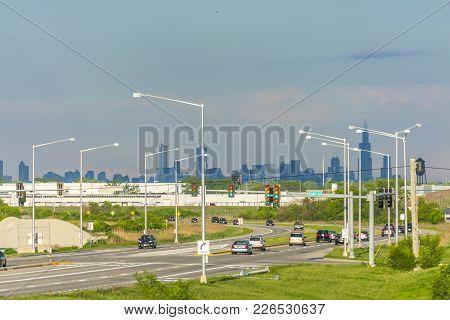 Chicago Skyline From Afar