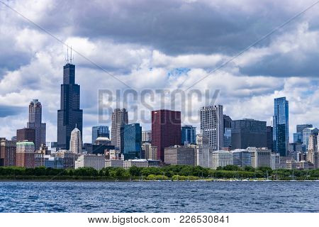 Chicago Skyline During Daytime