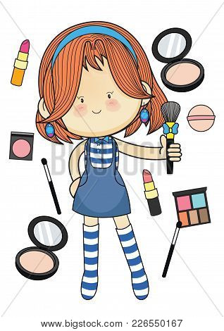 Character Design The Cute, Bright And Imaginative.