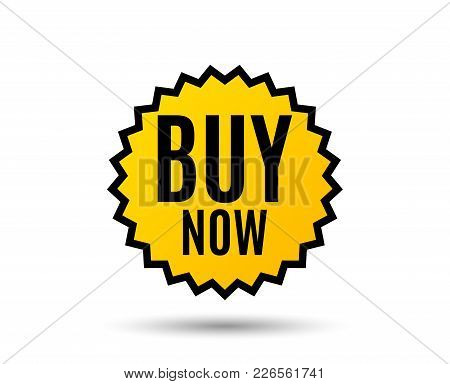 Buy Now. Special Offer Price Sign. Advertising Discounts Symbol. Star Button. Graphic Design Element