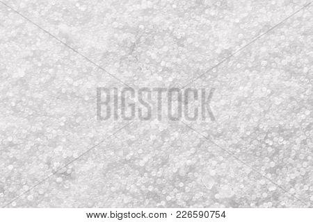 Pieces Of White Salt Background