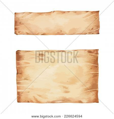 Illustration of brown textured background