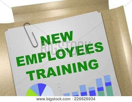 New Employees Training Concept