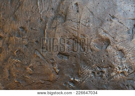 Background Relief Texture Of Stone Or Iron For Any Purpose