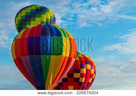 Every Fall, Dozens Of Hot Air Balloons Gather In Eastern Washington For Three Days Of Ballooning And
