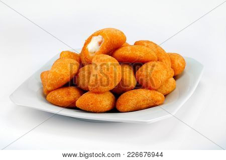 Brazilian snacks fried