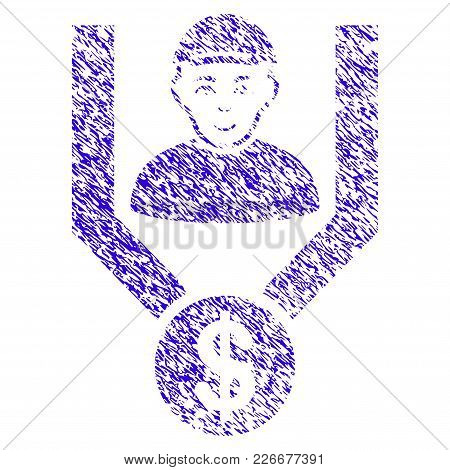 Grunge Client Sales Funnel Rubber Seal Stamp Watermark. Icon Symbol With Grunge Design And Dirty Tex
