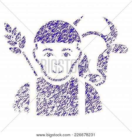 Grunge Farmer Rubber Seal Stamp Watermark. Icon Symbol With Grunge Design And Unclean Texture. Uncle