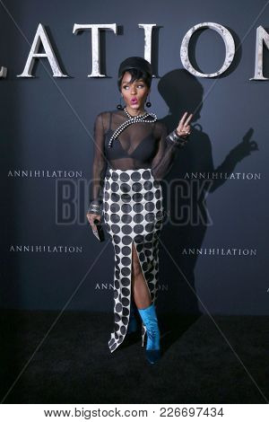 LOS ANGELES - FEB 13:  Janelle Monae at the