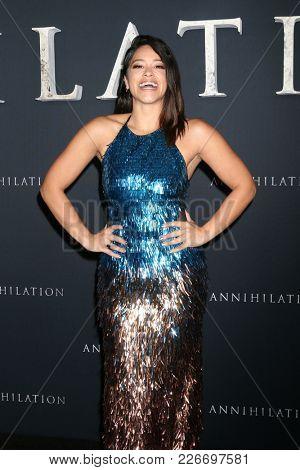 LOS ANGELES - FEB 13:  Gina Rodriguez at the