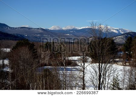 North Conway Nh,  Mount Washington Valley, Taken At Intervale Vista