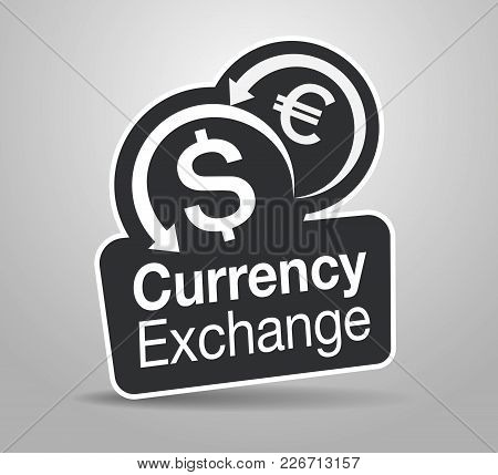 Signage Design For Modern Currency Exchange Technology
