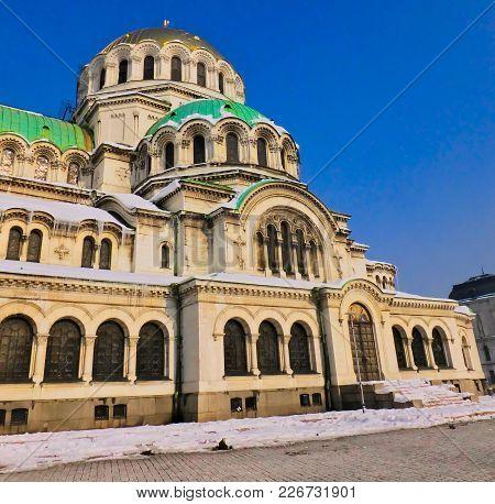 Sofia Alexander Nevsky Cathedral Orthodox Church, Bulgaria