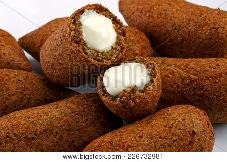 Snack, fried kibbe
