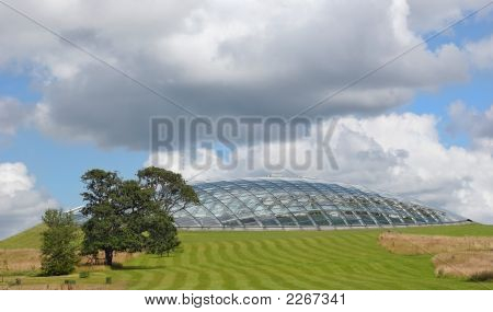 Futuristic Eco Dome
