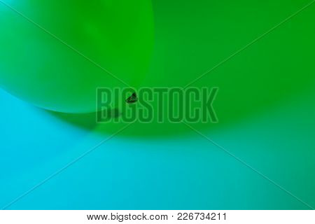 Simple Abstract Single Air Balloon Color Gradient Background Made By Two Colorful Lights Transitioni