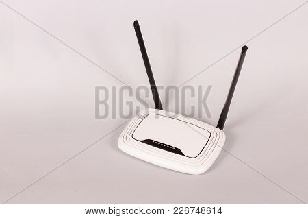 Wireless Router For Wifi Hotspots Useful At Home