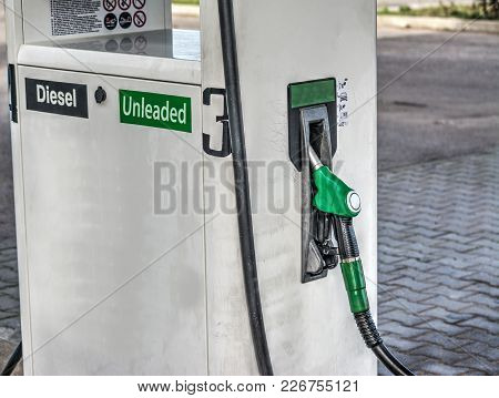 A Fuel Nozzle Close Up In Italy