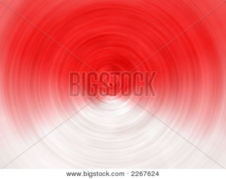 Red And White Spiral Background Design