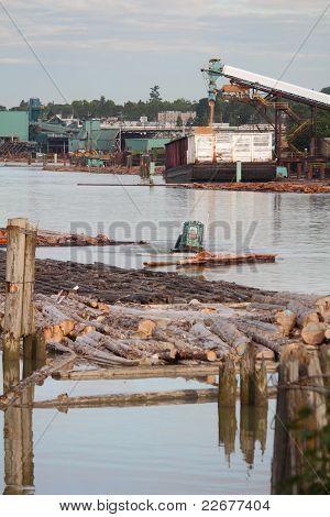 Fraser River Lumber Industry, Vancouver