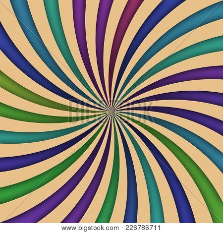 Central Converge Radial Violet Blue Rays Stripes Zoom Picture