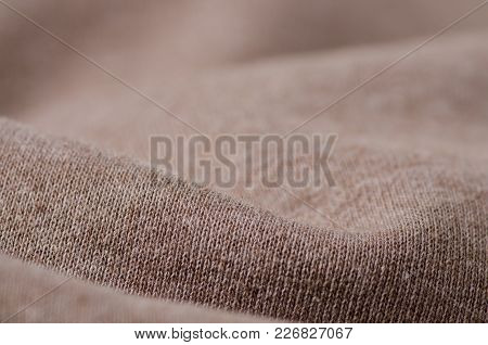 Beige Fabric Clothing Texture Material Textile Macro