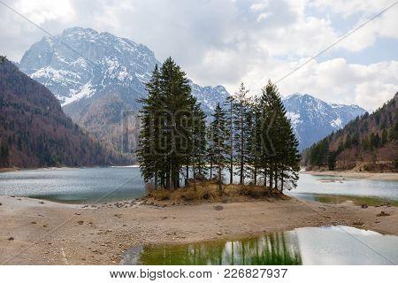 Lake Predil, Julian Alps, Italy
