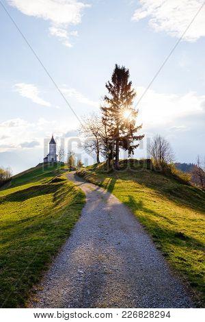 Saint Primoz Church, Jamnik, Slovenia