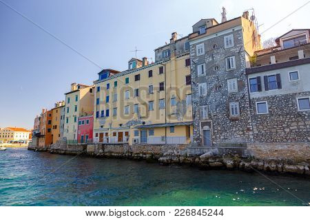 The Old Town Of Rovinj Istria
