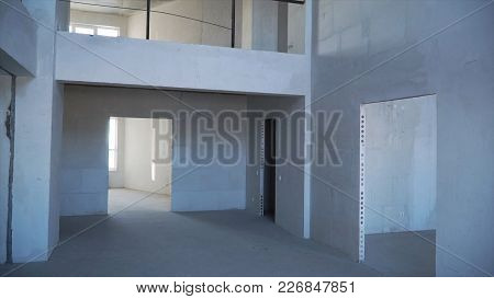 Material For Repairs In An Apartment Is Under Construction, Remodeling, Rebuilding And Renovation. M