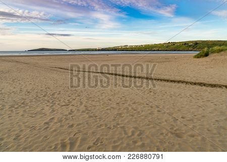 St Dogmaels Beach, Near Cardigan, Ceredigion, Dyfed, Wales, Uk
