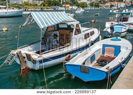 Boat With A Canopy